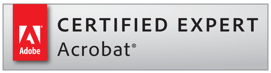 Adobe Certified Expert for Adobe Acrobat