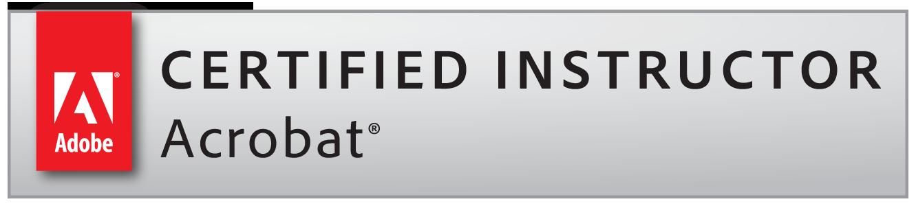 Adobe Certified Instructor for Adobe Acrobat
