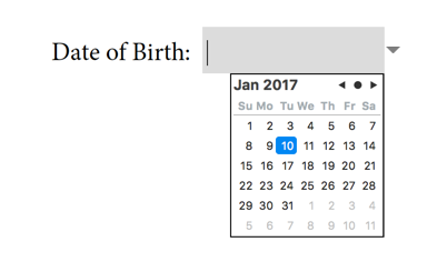 New Form Field Types in Acrobat DC: Image Field and Date