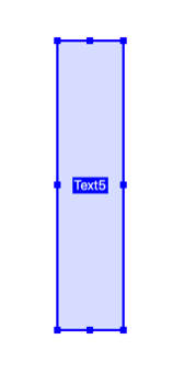 Screen shot of a text field that is taller than it's wide